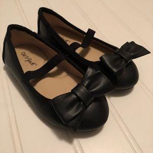Cat & Jack | Black Ballet Flats Toddler Size 6